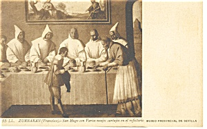 St Hugh And Carthusianmonks Postcard