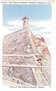 Castle of San Felipe de Barajas, Columbia Postcard (Image1)