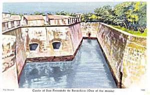 Castle of San Fernando de Bocachia, Columbia Postcard (Image1)