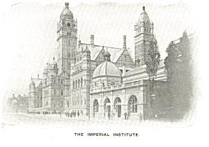The Imperial Institute UK Postcard p8675 (Image1)