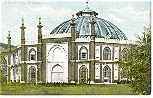 The Dome Brighton England Postcard p8702 (Image1)