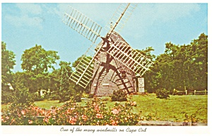Cape Cod Windmill Postcard (Image1)