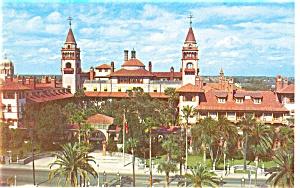 Hotel Ponce De Leon St Augustine  FL Postcard p8717 (Image1)