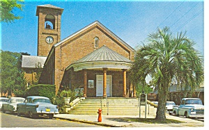 First Presbyterian Church, Palatka, FL Postcard (Image1)