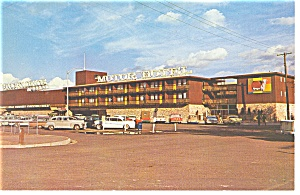 Elko NV  Stockman s Motel Postcard p8755 Old Cars (Image1)