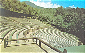 Cherokee, NC Mountainside Theatre Postcard (Image1)