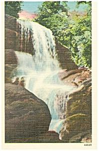 Highlands NC Highland Falls Kelsey Trail Postcard p8785 (Image1)