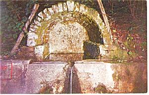 Crystal Spring Hendersonville NC  Postcard p8792 (Image1)