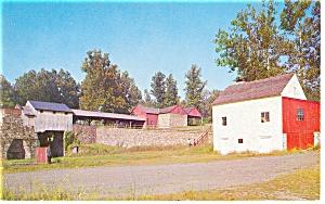 Hopewell Village PA  Hopewell Furnace  Postcard p8802 (Image1)