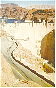 Hoover Dam Postcard p8811 (Image1)