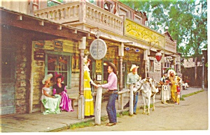 Knotts Berry Farm,CA, General Store Postcard p8814 (Image1)