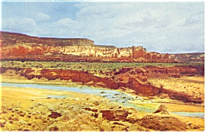 Red Rocks on Route 66  Postcard (Image1)