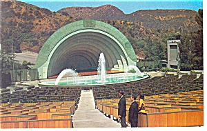 Hollywood Bowl Hollywood Ca Postcard P8843
