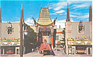 Hollywood CA  Grauman s Chinese Theater Postcard p8849 (Image1)
