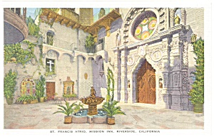 Mission Inn Riverside CA Postcard p8876 (Image1)