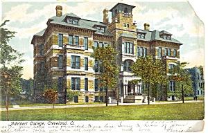 Adelbert College Cleveland Ohio Postcard p8888 1907 (Image1)