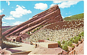 Theatre Denver Mountain Parks Co Postcard P8922