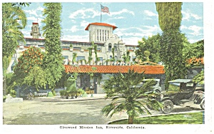 Riverside, CA, Mission Inn Entrance Postcard (Image1)