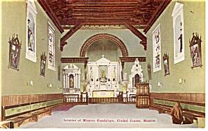 Mission Guadalupe, Ciudad Juarez, Mexico Postcard (Image1)