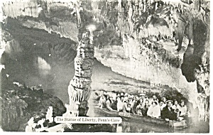 Penn's Cave, Centre Hall,PA Postcard (Image1)