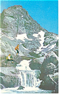 Grand Teton National Park, WY Middle Teton Postcard (Image1)