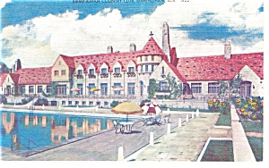 Birmingham,AL Country Club Linen Postcard (Image1)