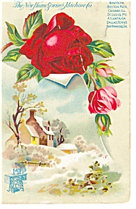 Home Sewing Machine Co Trade Card p9114 (Image1)