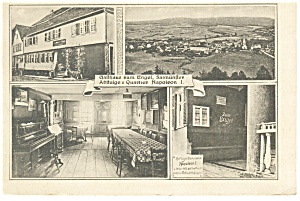 Gasthaus zum Engel, German Postcard (Image1)