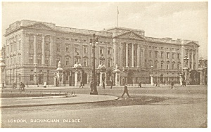 London England Buckingham Palace Postcard P9166