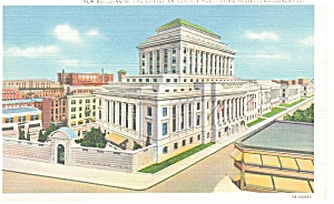 Boston MA Christian Science Publishing Postcard p9180 (Image1)
