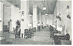 Jacksonville  FL Hotel Roosevelt The Lounge Postcard p9203 (Image1)