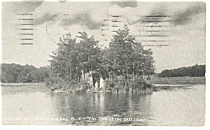 Alexandria Bay Thousand Islands NY Postcard p9234 (Image1)