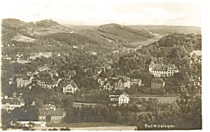Bad Kissingen Germany Aerial View Postcard P9246