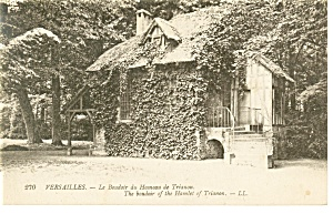 Versailles, Boudoir of Hamlet of Trianon Postcard (Image1)
