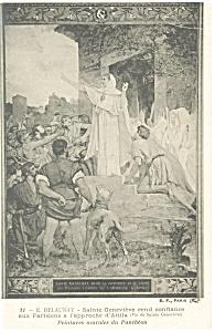 E Dalaunay The Artwork of Sainte Genevieve Postcard p9254 (Image1)