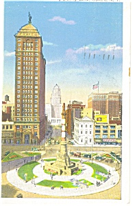 Buffalo, NY, Court St., Liberty Bank,Postcard 1938 (Image1)