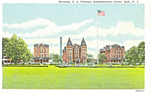Bath NY Barracks US VA Admin Center Postcard p9274 (Image1)