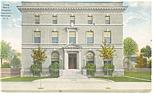 Newburgh  NY YMCA Building Postcard p9275 1916 (Image1)