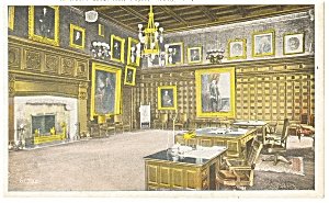 Albany NY Governor s Room State Capitol Postcard p9289a (Image1)
