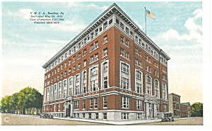 Reading,PA,  Y M C A Building, Postcard (Image1)