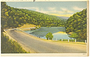 Altoona,PA,Wm Penn Highway Postcard (Image1)