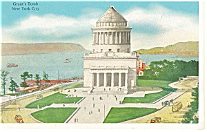 New York City NY Grant s Tomb Postcard p9370 (Image1)