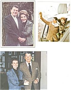 President Ronald Reagan Prints Lot (3) (Image1)