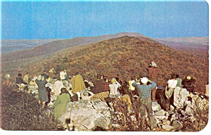 Kempton,PA, Hawk Mountain Sanctuary Postcard (Image1)