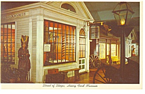Dearborn MI Henry Ford Museum Postcard p9422 (Image1)
