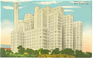 Medical Center New York City Postcard p9430 (Image1)