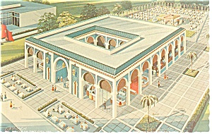 Morocco Pavilion,NY World's Fair Postcard (Image1)