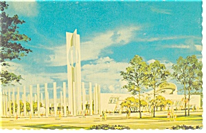 Protestant Center,NY World's Fair Postcard (Image1)