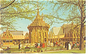 Thailand Pavilion,NY World's Fair Postcard (Image1)