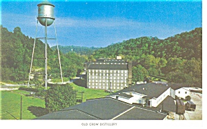 Frankfort,KY, Old Crow Distillery Postcard (Image1)
